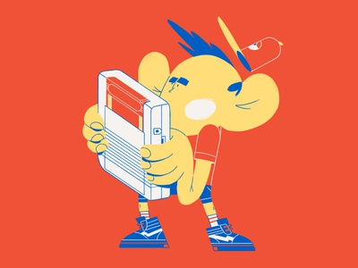Pokemon Boi kid illustration gameboy boi pokemon