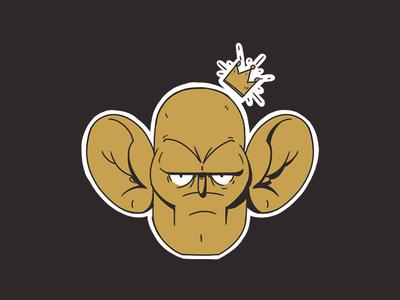 King cauliflower ear fight king