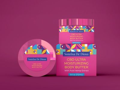 CBD ULTRA MOISTURIZING BODY BUTTER labeldesign label packaging package design label label mockup supplement label design label and box design branding label design packaging design