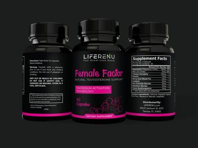 Female Factor Label Design