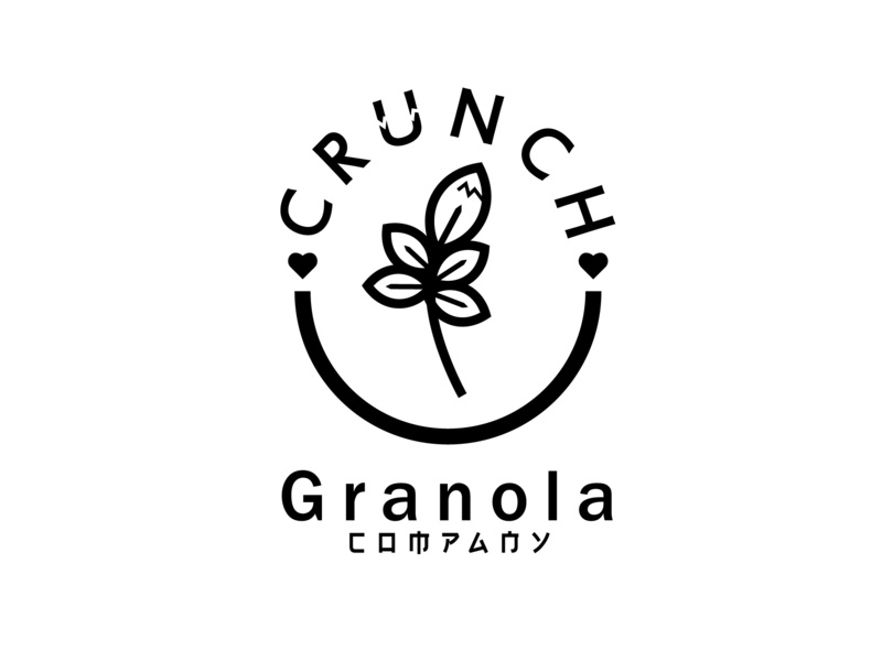 Granola Logo granola granola bar branding typography illustration brand vector daily logo challenge circle flat  design circle logo logo letter logo graphic design flat logo flat