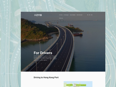 HZMB Redesign - For Drivers
