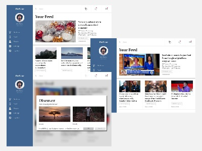 RealTalk - News Aggregation App Design