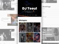 DJ Website Exploration