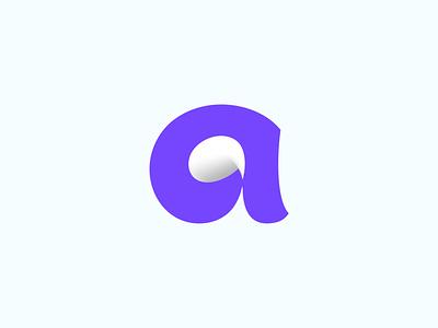 Babble bubble chat minimal mark logomark logo icon brand