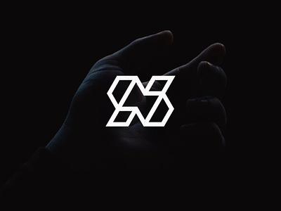Newrules typography abstract character lettermark lettering branding icon symbol logo minimalist vector design monogram logo monogram