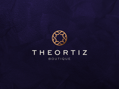 The Ortiz Boutique lettermark minimal luxury character branding icon vector symbol design logo minimalist boutique