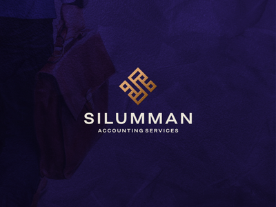 Silumman - Accounting Services branding icon lettermark vector symbol design logo consulting business services accounting simple monogram slogo