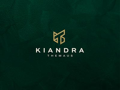 Kiandra Themaus - KT Monogram minimal icon lettermark abstract vector symbol design logo lettering letter kt monogram