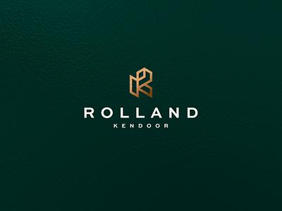 Rolland Kendoor - RK Monogram illustration branding lettermark icon vector symbol design logo letter lettering monogram rk