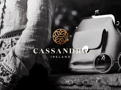 Cassandra Ireland abstract illustration branding icon vector designs sophisticated luxury symbol design logo personal branding personal