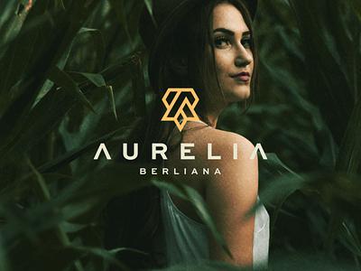 Aurelia Berliana abstract icon branding lettermark vector symbol design logo minimalist app design monogram logo monogram aletter