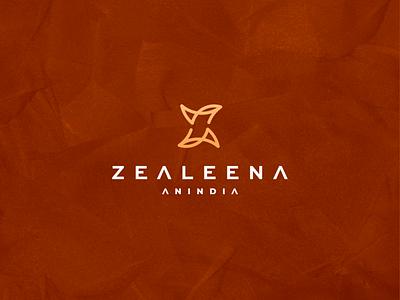 Zealeena Anindia za luxury brand luxury branding lettermark icon vector symbol design logo logotype monogram logo monogram