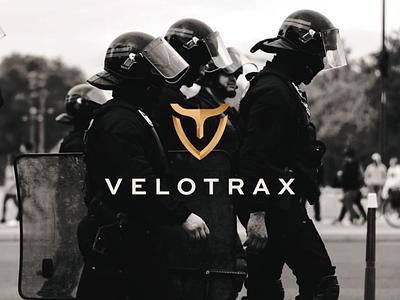 Velotrax owl illustration luxury security app icon abstract branding vector symbol design logo security owl logo owl