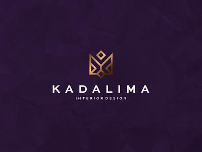 Kadalima - Interior Design decoration home exterior icon illustration vector character branding symbol design logo interior