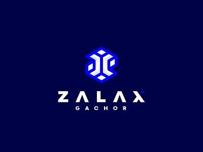 Zalax Gachor ux ui icon vector symbol design logo technology software computer digital letter z
