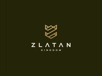 Zlatan Kingdom illustration character branding icon vector symbol design logo acmilan swedia ibrahimovic iamzalatan zlatan