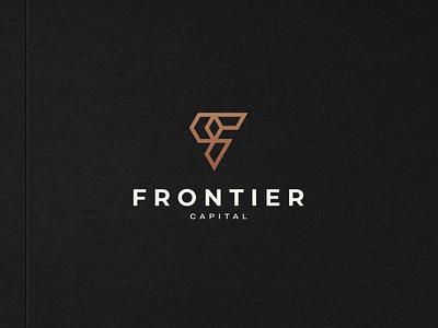 Frontier Capital icon vector symbol design logo capital flogo fletter lettermark letter monogram f