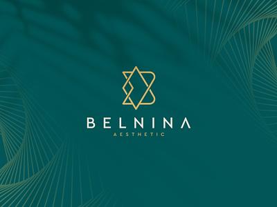Belnina Aesthetic aesthetic skincare ux ui illustration character branding icon vector symbol design logo beautiful beauty bdesign blogo bmonogram