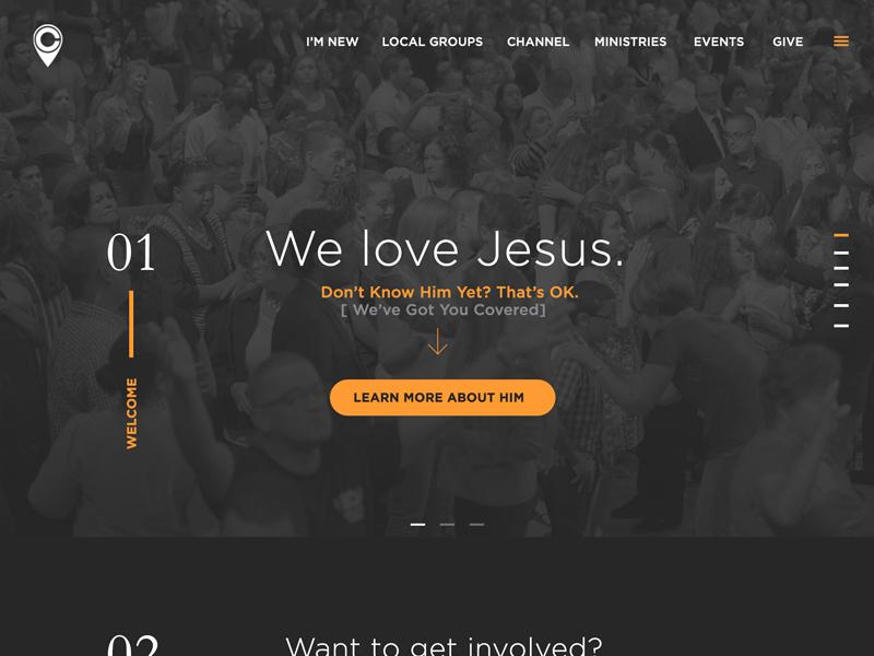 Website Mockup corporate modern clean design web