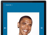 Obama booth photo