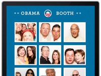 Obama booth