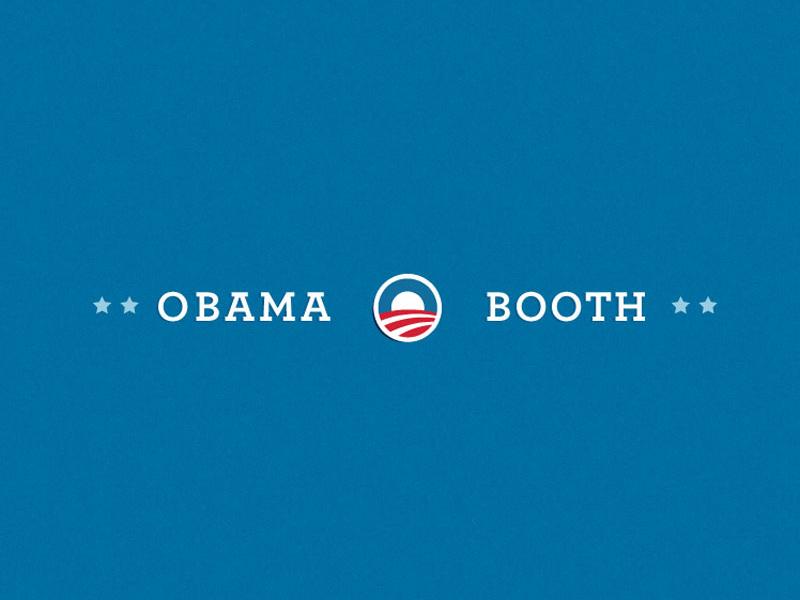 Photo Booth App for Obama 2012 ipad ios development photobooth obama ux ui design app