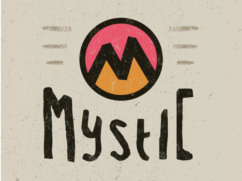 Mystic App iphone apple flat texture ios development design app
