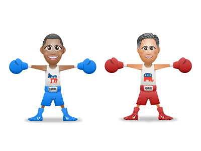 SupaStar Showdown - Obama v. Romney supastar avatar obama romney elections