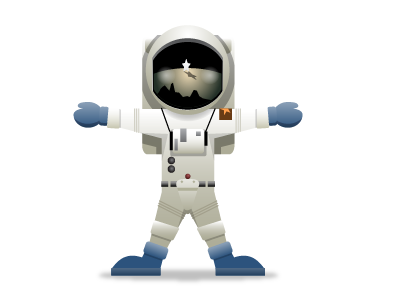 SupaStar Astronaut supastar avatar astronaut