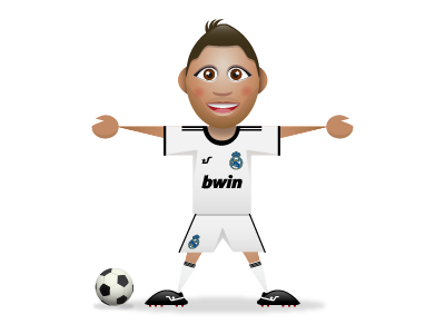 SupaStar Ronaldo supastar ronaldo football soccer real madrid sports