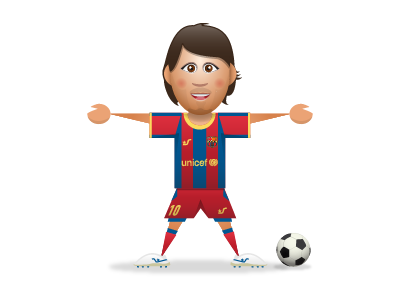 SupaStar Messi supastar messi football soccer fc barcelona sports
