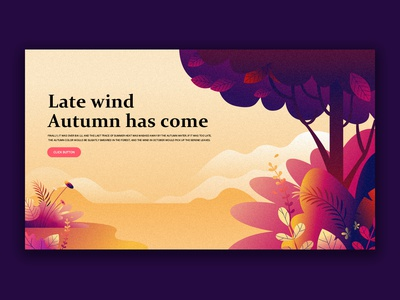 Late Wind Autumn Has Come