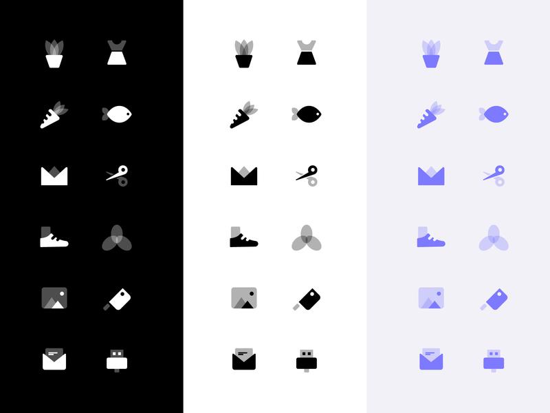 Icon 家电 工具 文件 家居 通讯 设计 icon