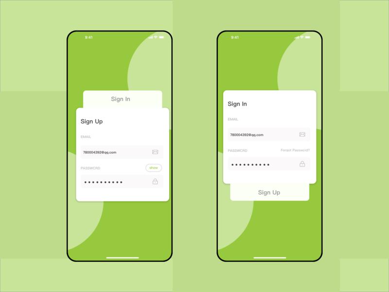 Login and registration page concept map sign in sign up design app app interface ui design