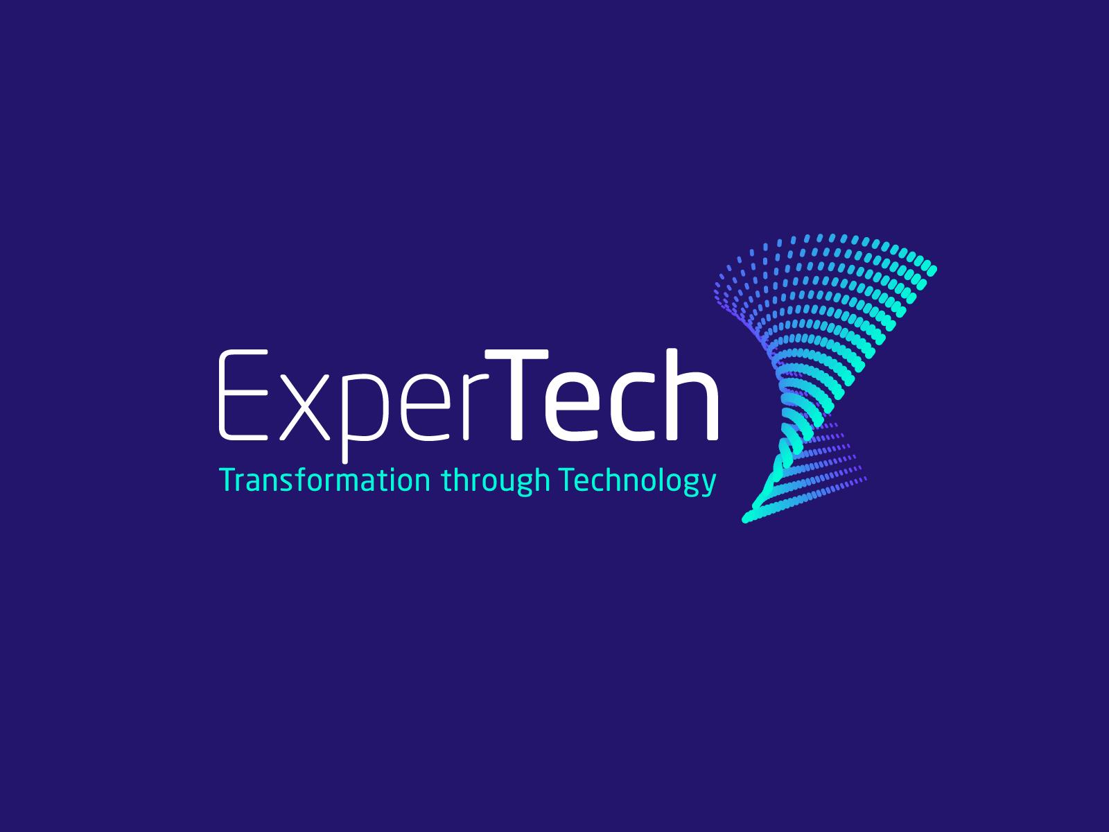 ExperTech — Logo Design / Brand Identity