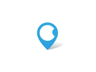 Apple Place apple place logo logolounge trends location marker