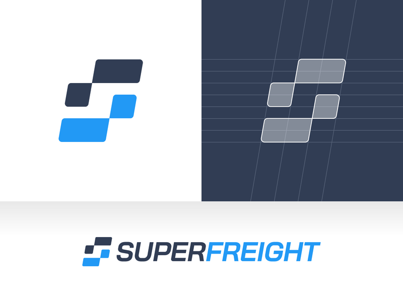 SuperFreight – Logo Design