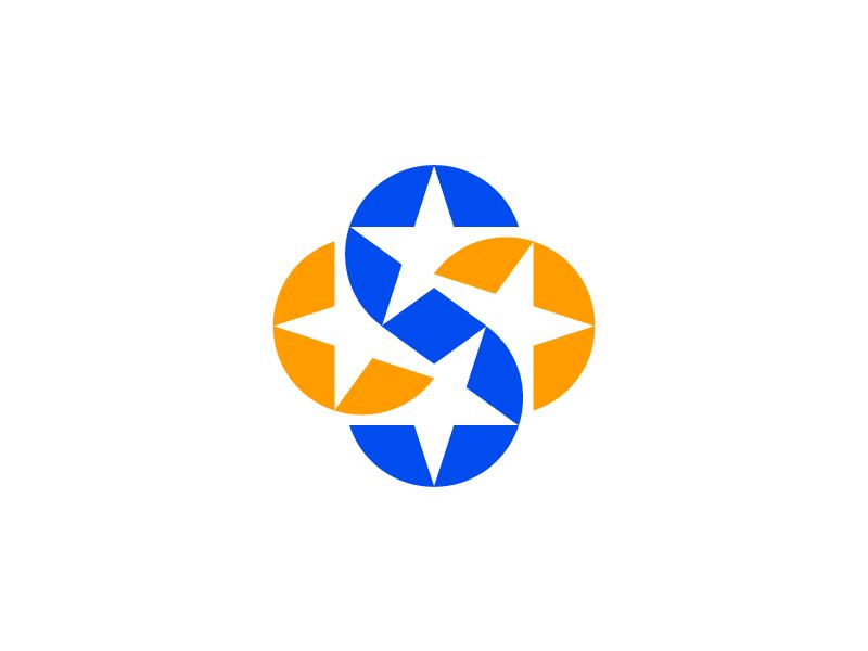 S — Stars logo // For SALE