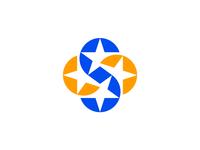 S stars / logo design