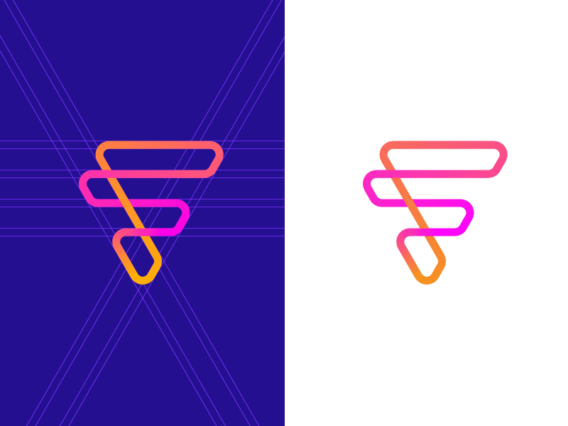 F — Logo Design // For SALE