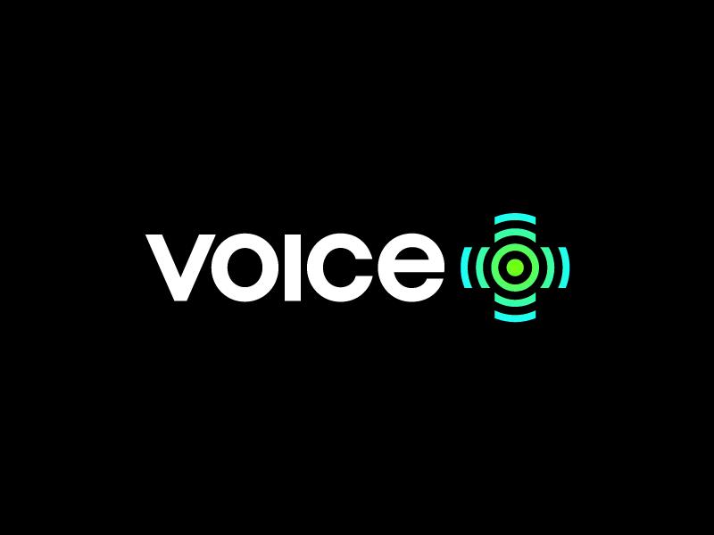 voice plus / logo design