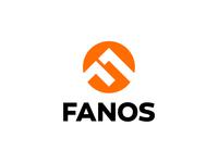 FANOS / F / logo design