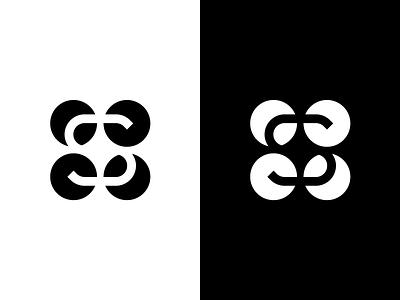 Hidden S Logo // For Sale hidden negative space black  white design circle sign logo simple s s logo circles