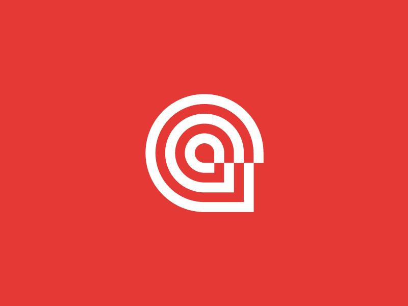 Head logo design