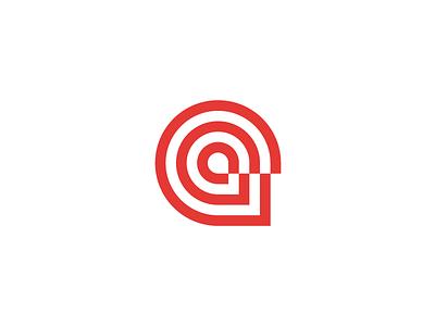Heads Logo Design // For SALE sale copy multi red grid design a heads head circle mark sign logo