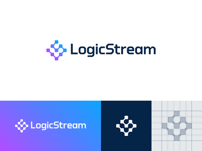 LogicStream — Logo Design