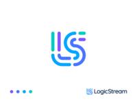 Logic Stream — Logo Design v.3