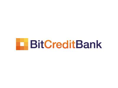 Bit Credit Bank (WIP) bit credit bank logo helvetica pixel
