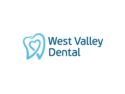 West Valley Dental tooth heart dental logo sign mark clinic